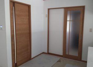 室内建具交換工事